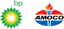 BP and Amoco Logo